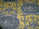 DESIGNER FRENCH NEOCLASSICAL ROUSSEAU TOILE FABRIC 12 YARDS