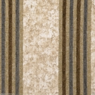 DESIGNER ITALIAN WINDSOR STRIPE CHENILLE FABRIC CREAM BROWN WEDGEWOOD