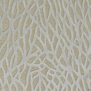 DESIGNER NASSAU REEF CUT VELVET FABRIC ICE BLUE