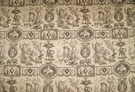 DESIGNER NEOCLASSICAL MYTHOLOGICAL GODDESSES PICTORIAL TOILE FABRIC 14 YARDS