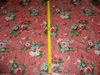 DESIGNER SHABBY ROSES CHINTZ FABRIC 10 YARDS COTTAGE PINK RED GREEN BLUE BARK