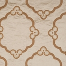 DONGHIA BOLERO EMBROIDERED SILK SATIN FABRIC CAMELLO CAMEL 5 YARD MIN