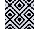 LEE JOFA LA FIORENTINA GEOMETRIC LINEN FABRIC DOMINO