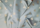 ELEGANT NEOCLASSICAL BEE DAMASK FABRIC FRENCH BLUE