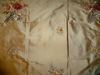 "FOR JABEEN; KOPLAVITCH GOLD ""PETITE FLORA"" EMBROIDERED SILK FABRIC 3 YARDS"