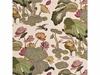 G P & J BAKER NYMPHEUS BIRDS LINEN PRINT FABRIC BISCUIT TAUPE