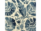 G P & J Baker POPPIES FABRIC INDIGO
