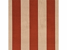 GP & J BAKER ASTLEY STRIPE VELVET FABRIC TERRACOTTA BRONZE