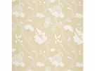 GP & J BAKER CRESSIDA EMBROIDERED LINEN FABRIC MIMOSA