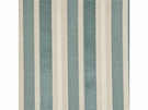 GP & J BAKER MARWOOD STRIPE VELVET FABRIC AQUA