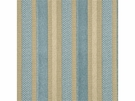 GP & J BAKER MARWOOD STRIPE VELVET FABRIC DELFT