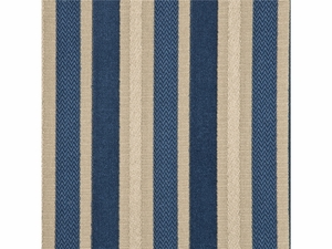 GP & J BAKER MARWOOD STRIPE VELVET FABRIC MARINE