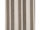 GP & J BAKER MARWOOD STRIPE VELVET FABRIC TAUPE