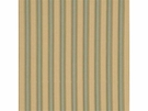 GP & J BAKER PLEATED STRIPE VELVET FABRIC CELADON GOLD