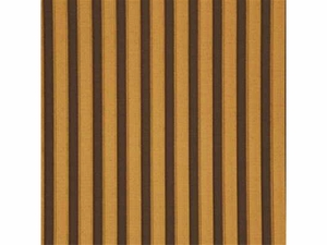 GP & J BAKER PLEATED STRIPE VELVET FABRIC CHOCOLATE BRONZE