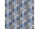 GP & J BAKER RUSHFORD STRIPE FABRIC INDIGO SAND