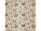 GP & J BAKER TULIP TREE LINEN FABRIC ANTIQUE