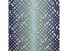 KELLY WEARSTLER OMBRE MAZE JACQUARD FABRIC TEAL