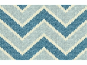KRAVET AMANI LINEN COTTON FABRIC INDIGO