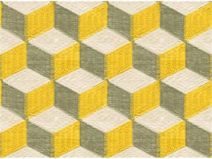 KRAVET COUTURE CONTEMPORARY COLOR BLOCKS EMBROIDERED FABRIC