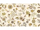 KRAVET COUTURE FUN IN THE SUN EMBROIDERED FABRIC GREY QUNICE