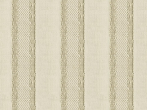 KRAVET COUTURE GILDED STRIPE FABRIC CHAMPAGNE