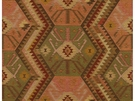 KRAVET COUTURE HERITAGE KILIM ANTIQUE FABRIC ANTIQUE