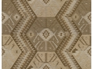 KRAVET COUTURE HERITAGE KILIM ANTIQUE FABRIC DRIFTWOOD