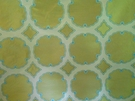 KRAVET COUTURE INTERPRETATION DAMASK SILK FABRIC CITRON TEAL