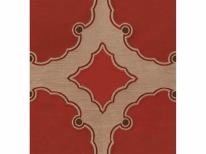 KRAVET COUTURE INTERPRETATION DAMASK SILK FABRIC LACQUER
