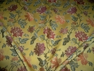 KRAVET COUTURE LEE JOFA FINO BROCADE FABRIC 10 YARDS GOLDENROD
