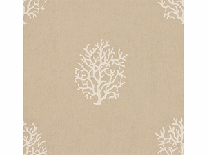 KRAVET COUTURE NEWPORT STYLE EMBROIDERY LINEN FABRIC LINEN