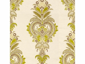 KRAVET COUTURE PARADISE FOUND EMBROIDERY LINEN FABRIC QUINCE