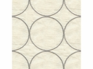 KRAVET COUTURE RING LEADER EMBOIDERED LINEN FABERIC SILVER