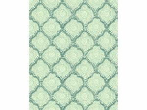 KRAVET KASHMIRA COTTON FABRIC AQUAMIST