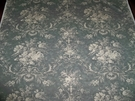 KRAVET LAURA ASHLEY FRENCH COUNTRY QUEENSWAY FABRIC 19.5 YARD BOLT PEWTER