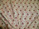 KRAVET LAURA ASHLEY SHABBY ENGLISH COUNTRY LILABET TOILE FABRIC 22 YARDS ROSE