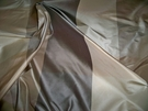 KRAVET LEE JOFA OLMSTEAD SILK CHECK TAFFETA FABRIC 30 YARD BOLT CHARCOAL BROWN BEIGE