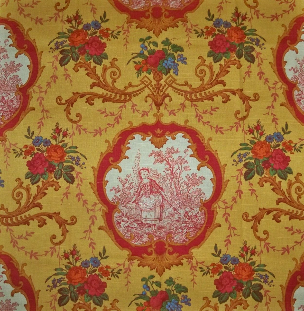 Lovely French Country Fabrics Part - 13: Drapery Genie