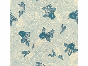 KRAVET UPSTREAM FABRIC OCEAN