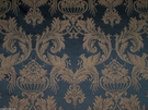 LEE JOFA ANDREW MARTIN KRAVET AVIGNON BIRD DAMASK FABRIC 5 YARDS GOLD BLACK