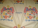 LEE JOFA ANDREW MARTIN KRAVET EXCALABUR COAT OF ARMS CREST FABRIC 10 YARDS
