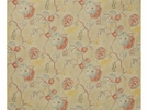LEE JOFA ANTIBES PRINT FABRIC BLUE RED