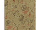 LEE JOFA ANTIBES PRINT FABRIC OLIVE PLUM