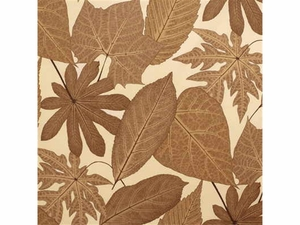 LEE JOFA ARBORETUM PRINT COTTON FABRIC BROWN