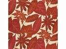 LEE JOFA ARBORETUM PRINT COTTON FABRIC CLAY