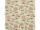 LEE JOFA BERRINGTON FLORAL COTTON PRINT FABRIC RED