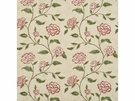 LEE JOFA BERRINGTON FLORAL VINES FABRIC RED