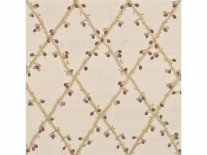 LEE JOFA BERRY SILK TRELLIS FABRIC OPAL