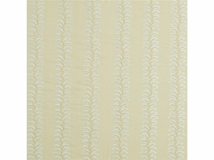 LEE JOFA BRADBOURNE EMBROIDERED FABRIC CREAM